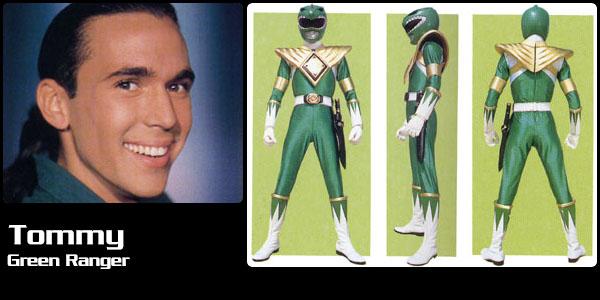 Tommy Oliver, Green Power Ranger | Power Rangers Central