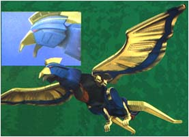 Blue wolf zord - photo#19