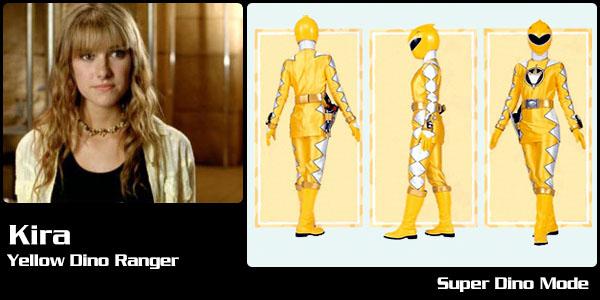 Kira Ford Yellow Dino Ranger Power Rangers Central