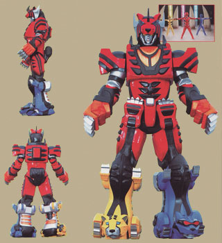Power Rangers Jungle Fury Jungle Pride Megazord Jungle Pride Mega - Po...