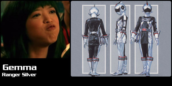 gemma ranger silver power rangers central power rangers central