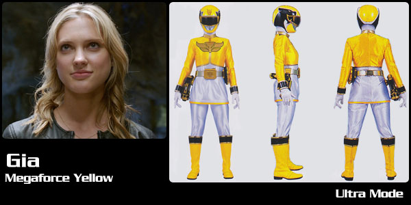 yellow power ranger megaforce-#35
