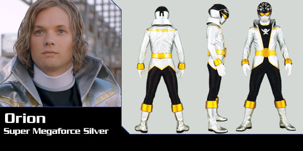orion super megaforce silver ranger power rangers central power rangers central