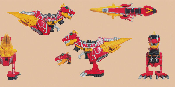 Red Tyler Power Rangers Dino Charge