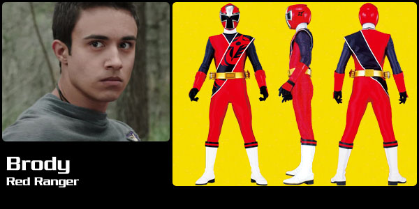 Brody Romero, Red Ninja Steel Ranger | Power Rangers Central