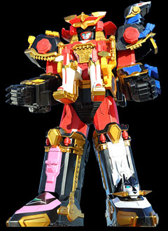 Ninja Steel Megazord | Power Rangers Central