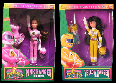 Mighty Morphin Power Rangers - Girls Assortment Toys - Toy Guide ...