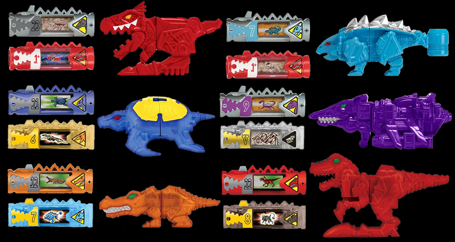 power rangers central toy guide