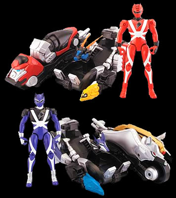 Power Rangers Jungle Fury - Summer 08 Toys | Power Rangers