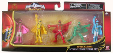 Power Rangers Mystic Force Spring 06 Toys Power