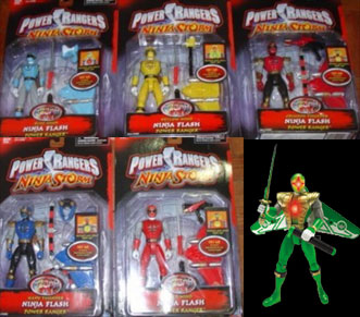 Power Rangers Ninja Storm - Spring Toys - Toy Guide | Power ...