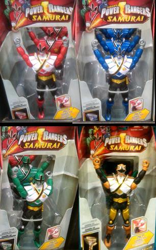 power rangers samurai spring 12 toys power rangers central