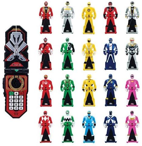 Red//Blue//Yellow Power Rangers Super Megaforce Jungle Fury Legendary  Key Pack