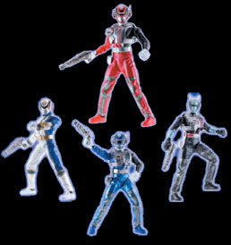 Power Rangers S.P.D. - Fall Toys | Power Rangers Central