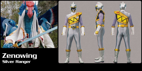 zenowing dino charge silver ranger power rangers central zenowing dino charge silver ranger